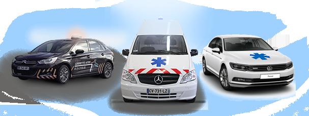 Histoire de Lorriette-Vitry, ambulances, taxis, VSL dans les ardennes