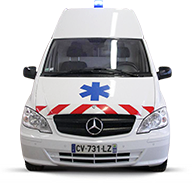 Mercedes Vito rehaussé - Transport Lorriette-Vitry
