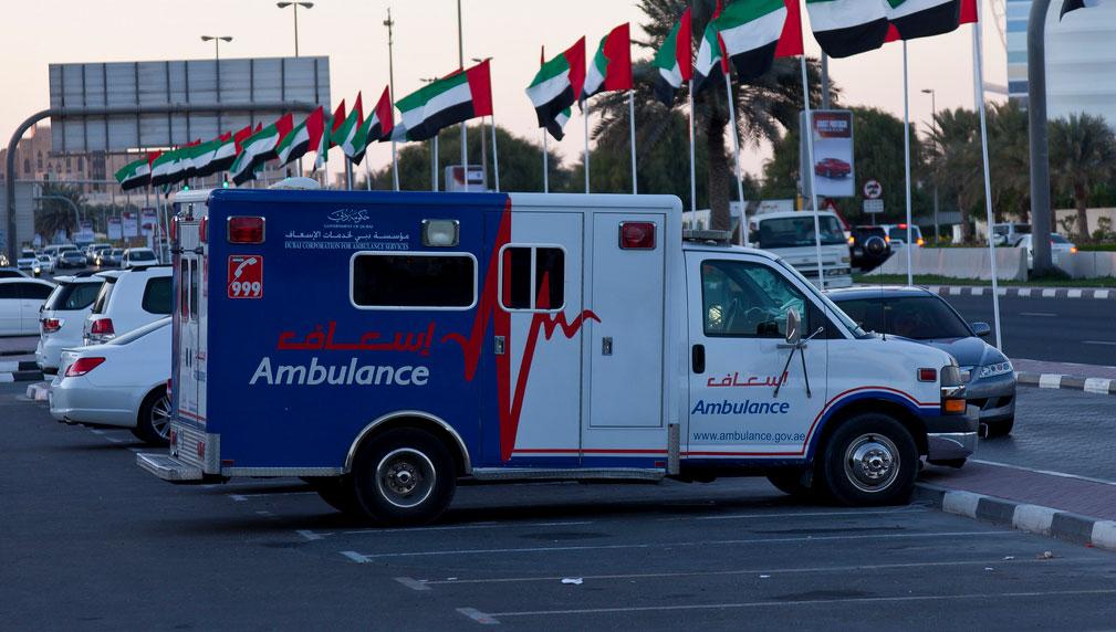 Ambulance Dubaï - Lorriette Vitry - Taxi ambulance VSL Ardennes