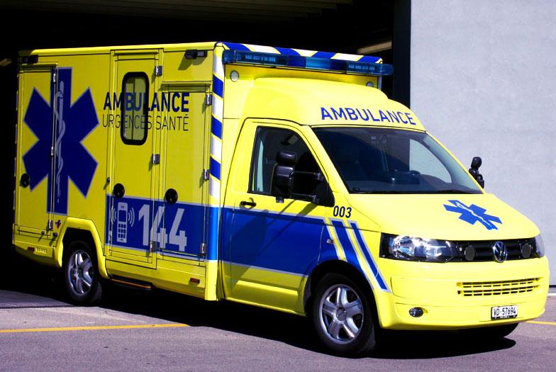 Ambulance Suisse - Lorriette Vitry - Taxi ambulance VSL Ardennes