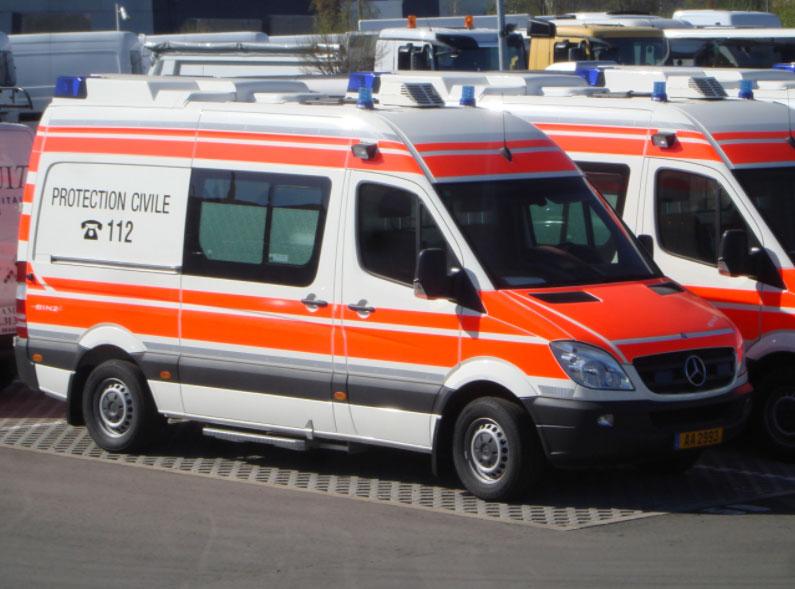 Ambulance Luxembourg - Lorriette Vitry - Taxi ambulance VSL Ardennes